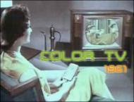 Tv comercial color tv