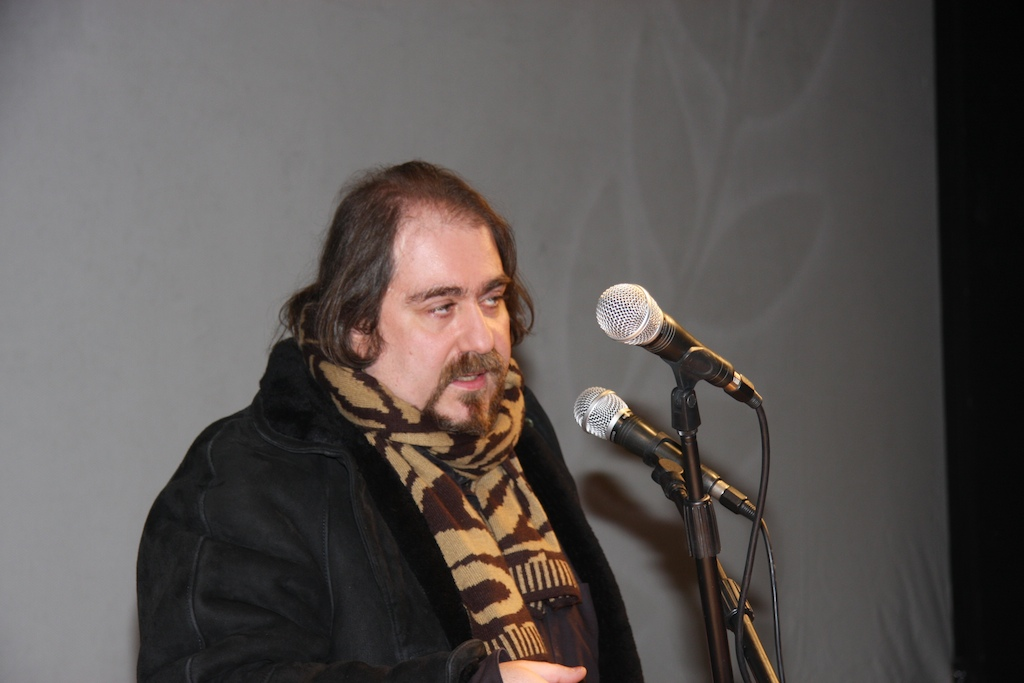 The artistic director Christos N. karakasis